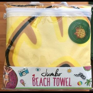 Accessories - Beach towel jumbo it's a pineapple